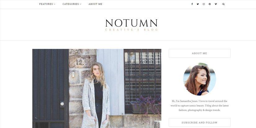Mi tema favorito para crear un blog de moda