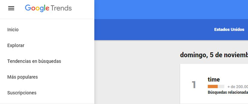 Cómo usar Google Trends para detectar tendencias de mercado