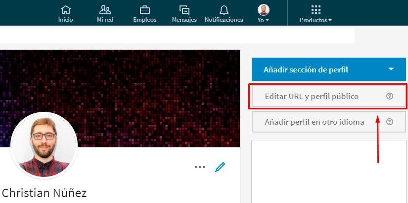 Cómo crear un perfil de linkedin y editar tu url del perfil público
