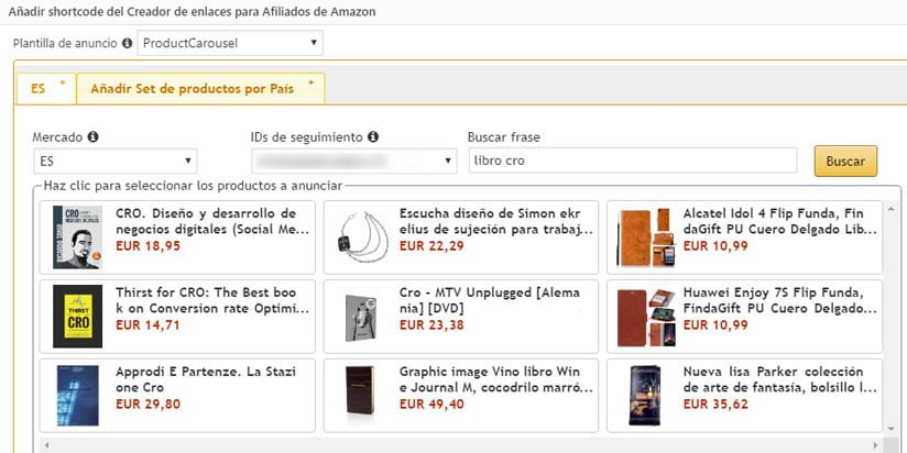 Verificando que el plugin de amazon associates link builder se ha instalado correctamente
